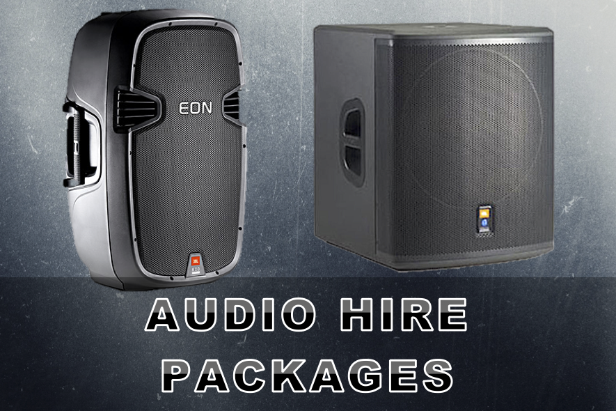 Audio Hire Packages Artwork