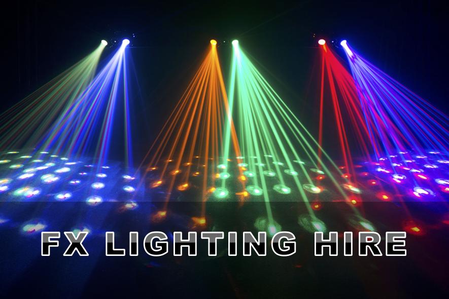 FX Lighting Hire Artwork