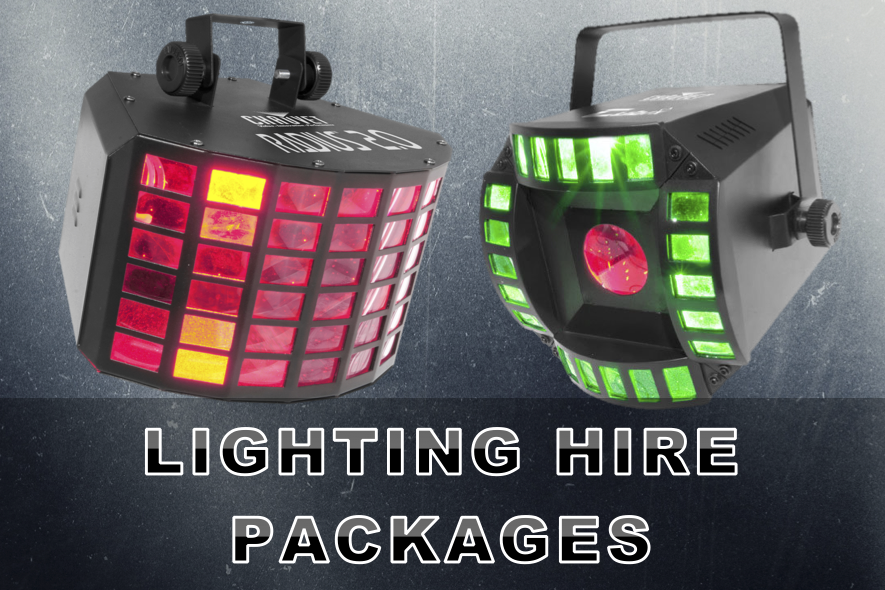 Lighting Hire Packages Artwork A