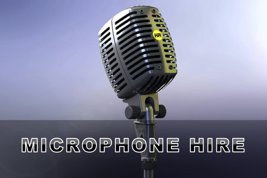 Microphone Hire Artwork