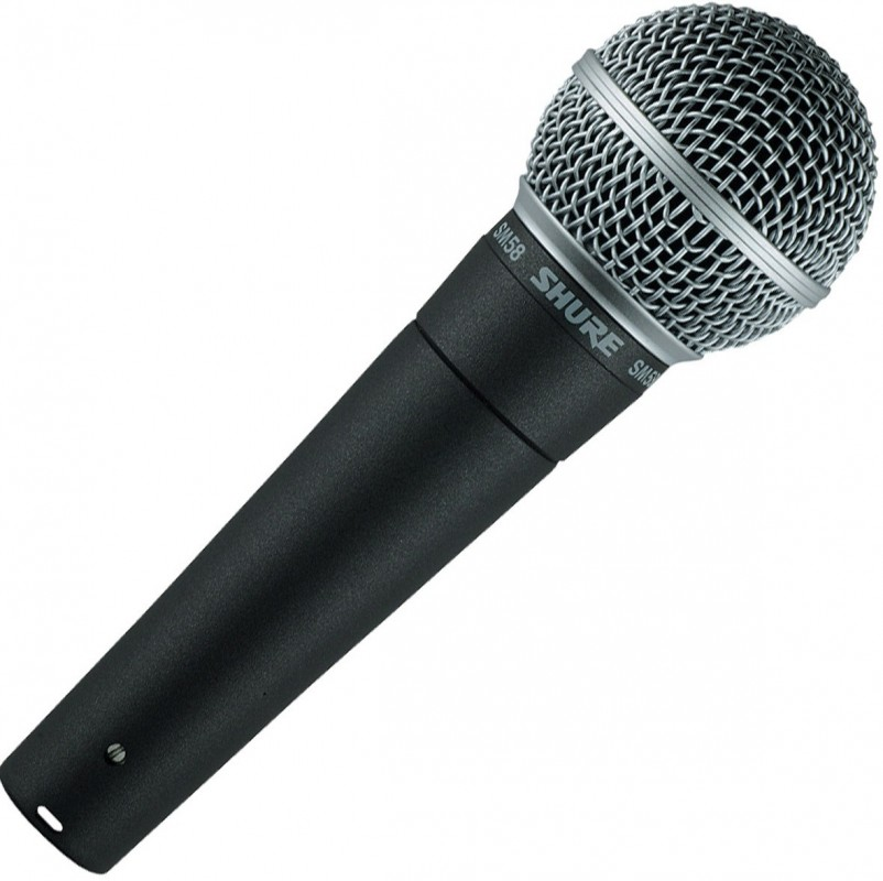 Shure SM58 Microphone Image