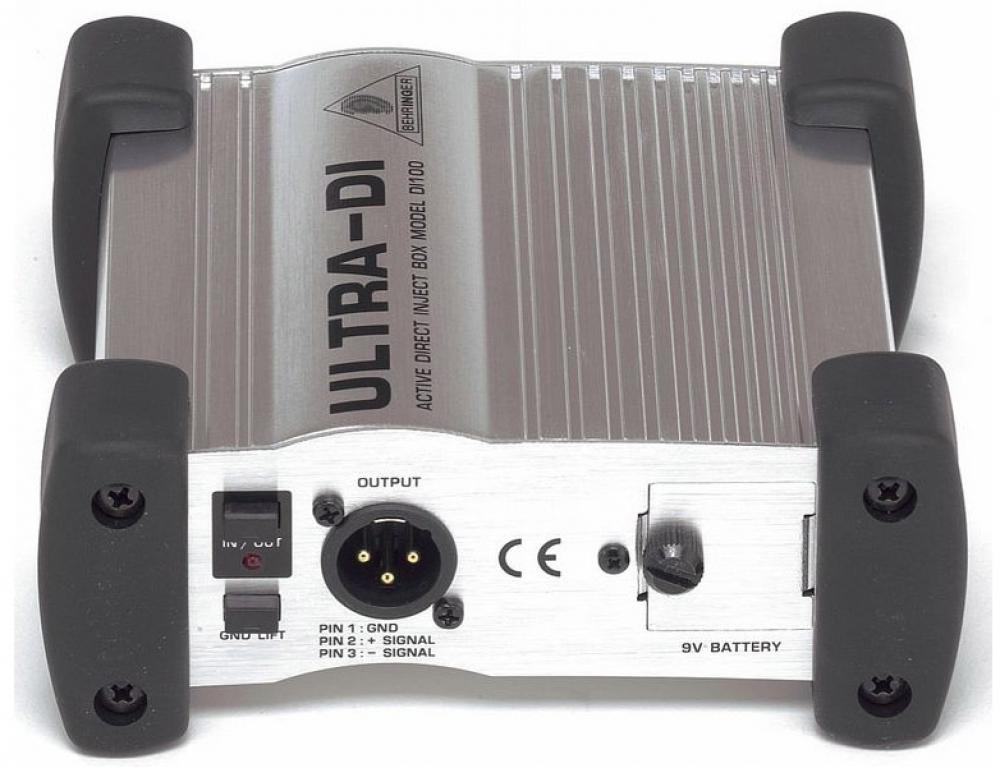 Behringer DI100 DI-Box Image