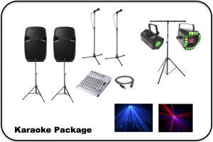 Karaoke Package Image