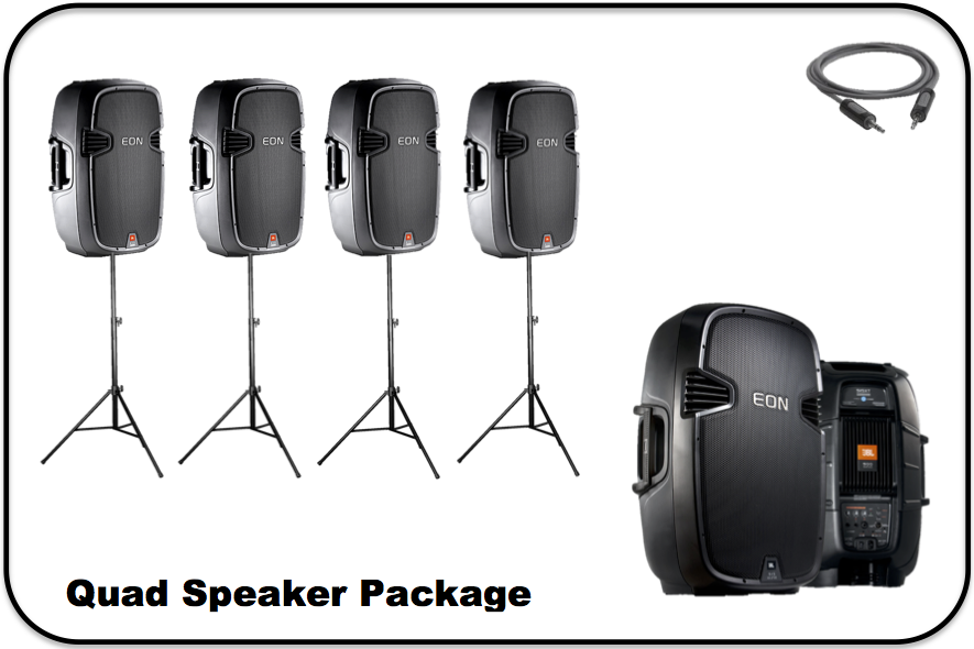 Quad Speaker Package Image