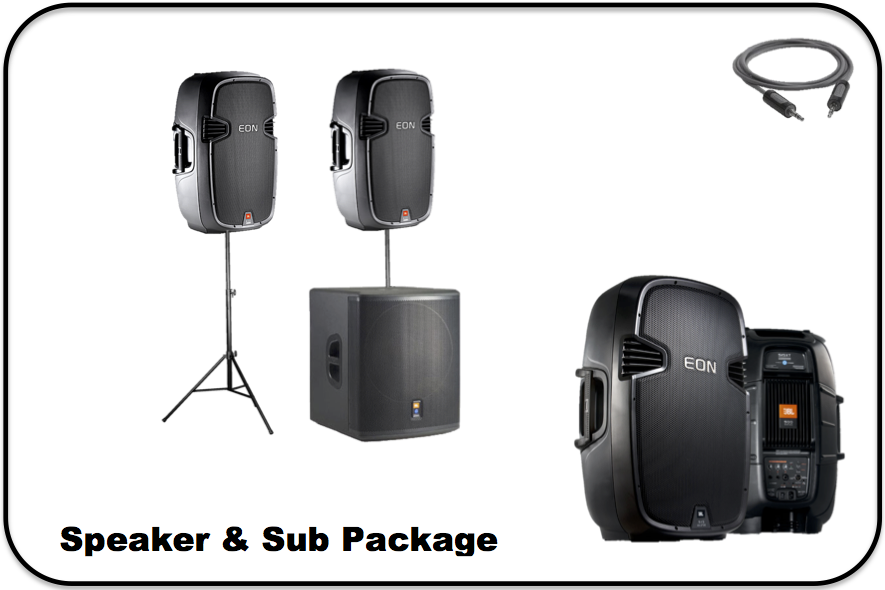 Speaker & Sub Package Image