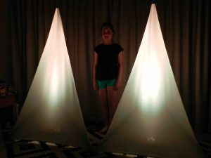 White Scrim (With LED Up Light) Image