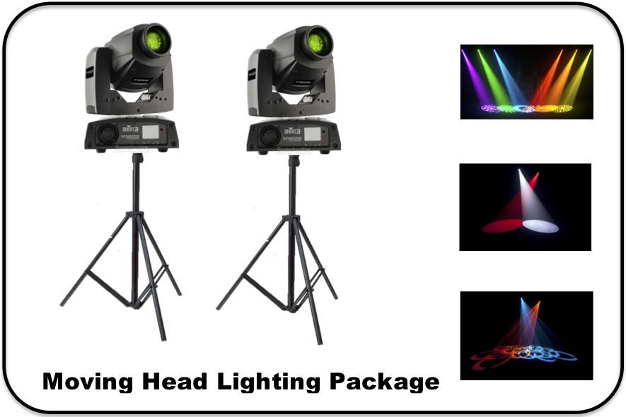 Moving Head Lighting Package Image
